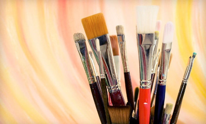 Infinity Paint - West Chester: $25 for $50 Worth of Designer Paint and Supplies at Infinity Paint