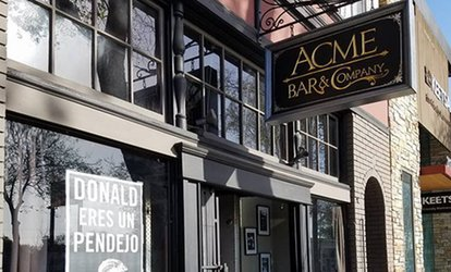 image for Drinks at Acme <strong>Bar</strong> & Company (Up to 40% Off)