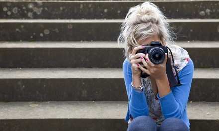 $19 for a Certified Online Photography Course from Shaw Academy ($395 Value)