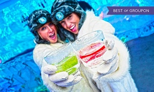 Minus 5 Ice Bar: Admission for Two, or Admission for Two or Four with Framed Photos at Minus 5 Ice Bar (Up to 44% Off)