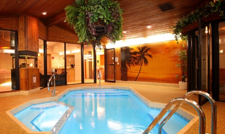 1-Night Stay for Two with Romance Package at Sybaris Pool Suites in Suburban Chicago. Combine Up to 5 Nights.