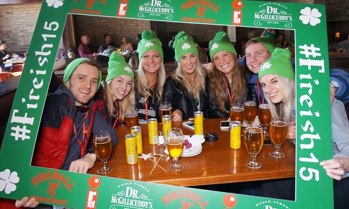SocialTechPop: General Admission for One or Two to the Chicago Irish Crawl–St. Patrick's Day Bar Crawl (Up to 47% Off)