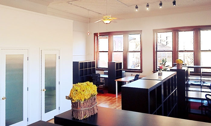 Free Range Office - Wicker Park: 5 or 10 Days of Work-Space Rental at Free Range Office (Up to 51% Off)
