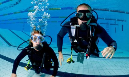 image for $29 for a Party or Individual Discovery Dive at Learn <strong>Scuba</strong> Chicago ($75 Value)