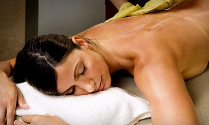 TriBeca Spa of Tranquility - Tribeca: Body Scrub or Massage for One or Body Scrub and Massage for One or Two at TriBeca Spa of Tranquility (Up to 59% Off)
