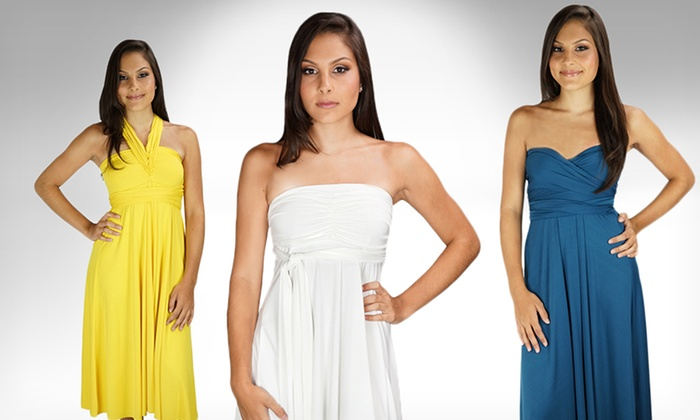 Wrap Magic Skirts Transformer Convertible Midi and Maxi Dresses: $39.99 for a Wrap Magic Skirts Convertible Dress ($250 List Price). Multiple Colors. Free Shipping and Returns.