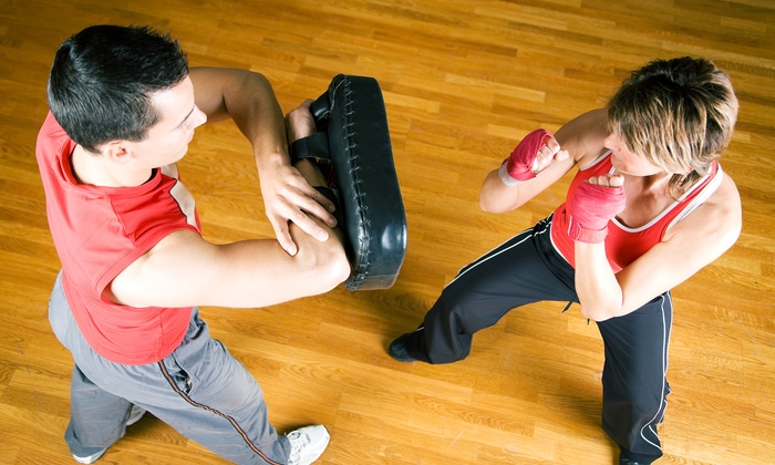 YMA Krav Maga & K.O. Bag Fitness - YMA Krav Maga & K.O. Bag Fitness: 5, 15, or 25 Krav Maga or K.O. Bag Workout Classes at YMA Krav Maga & K.O. Bag Fitness (Up to 84% Off)