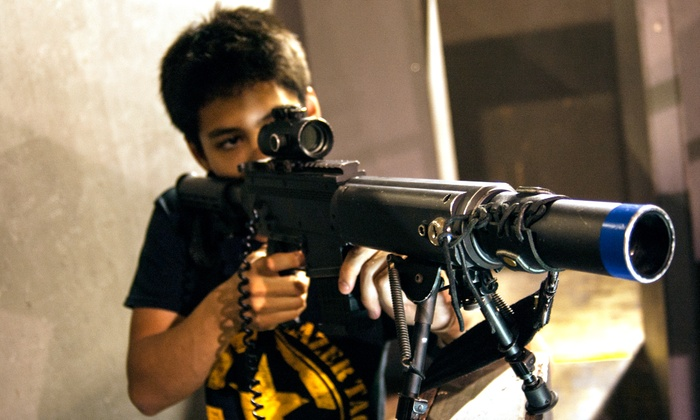 CMP Tactical Lazer Tag: Frankfort - Frankfort: 90 Minutes of Laser Tag for Two or Four or Party Package at CMP Tactical Lazer Tag Frankfort (Up to 51% Off)