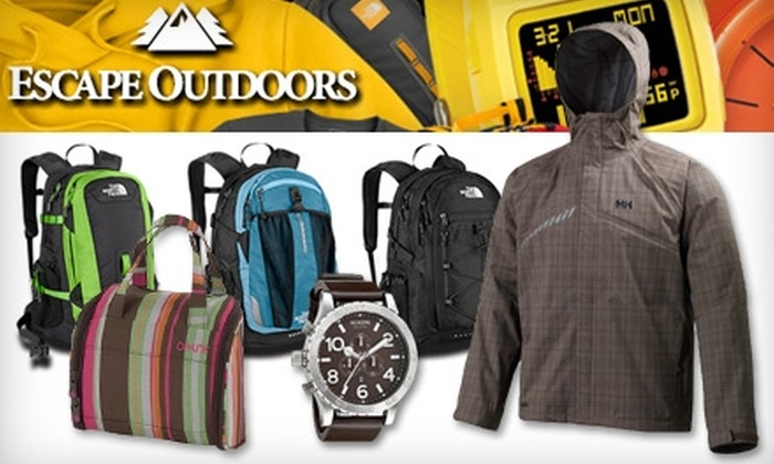 Escape Outdoors - SeaTac: $25 for $50 Worth of Outdoor Apparel from Escape Outdoors