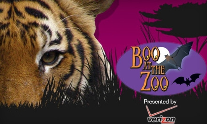 "Little Rock Zoo - Little Rock: $6 for Two Tickets to ""Boo at the Zoo"" at the Little Rock Zoo on October 28–31"