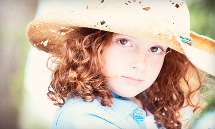 Christine Meeker Studios - Sugar Land: $55 for a Photo Package with an In-Studio Shoot and Three Prints at Christine Meeker Studios in Sugar Land ($425 Value)