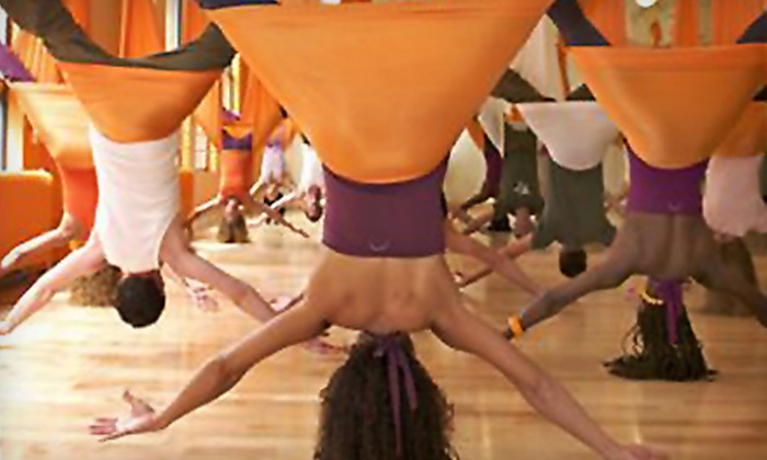 Vertical Girl Fitness - Warrenton: Five Antigravity-Yoga or Pole-Fitness Classes at Vertical Girl Fitness in Warrenton