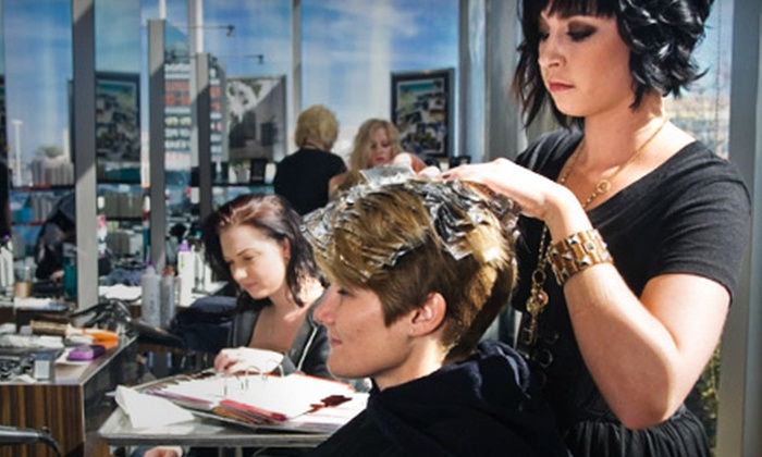 Paul Mitchell the School Columbia - The Congaree Vista: $17 for Salon Package with Haircut and Awapuhi Keratriplex Treatment at Paul Mitchell the School Columbia ($35 Value)