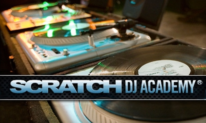 Scratch DJ Academy - West Los Angeles: $55 For a One-Hour Private DJ Lesson from Scratch DJ Academy ($125 Value)