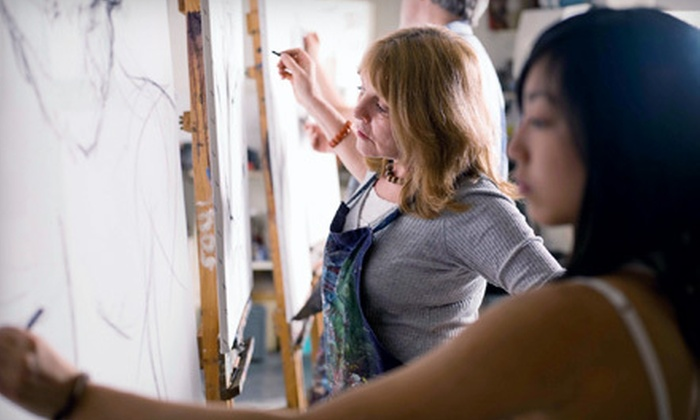 Losina Art Center - Midway District: $55 for Two Art Classes and Basic Membership at Losina Art Center (Up to $185 Value)