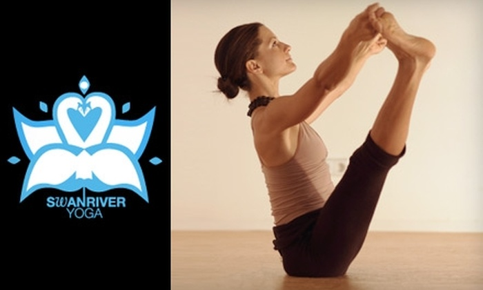 Swan River Yoga - Mid-City: $18 for Three Yoga Classes at Swan River Yoga ($45 Value)