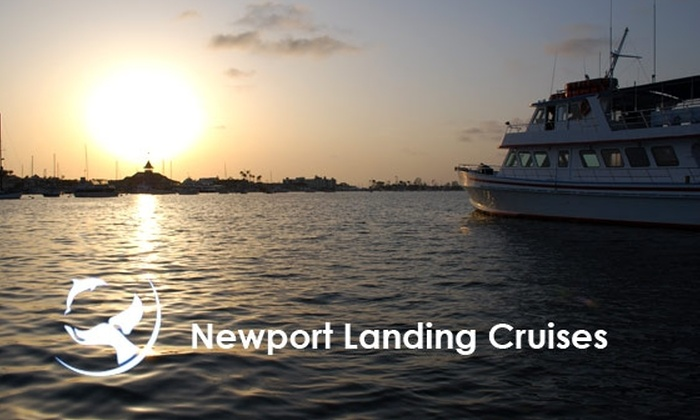 Newport Landing Cruises - Newport Beach: $12 for One Ticket Aboard a Sunset Cruise with Newport Landing Cruises ($25 Value)