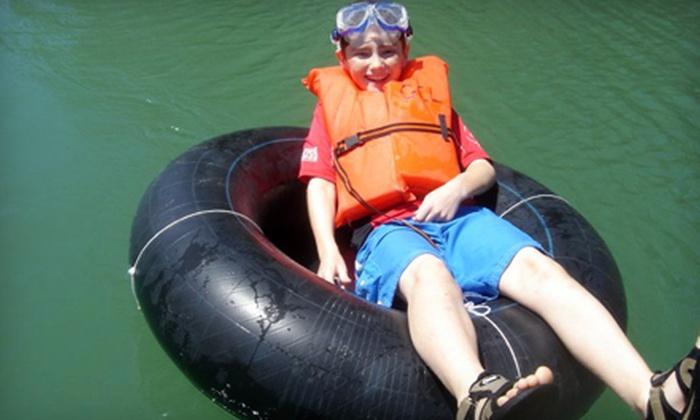 Guadalupe Canoe Livery - Canyon Lake: Inner-Tube Adventure for Two from Guadalupe Canoe Livery