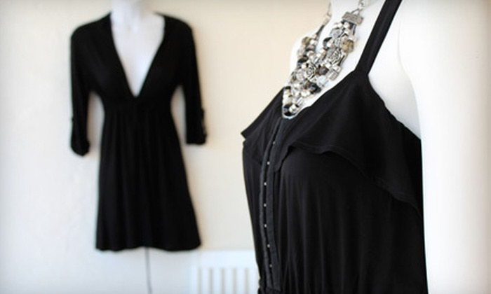 Blackout Clothing Boutique - Brookside: $20 for $40 Toward Designer Clothing at Blackout Clothing Boutique