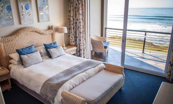 C The View Guesthouse - Mossel Bay: Mossel Bay: Accommodation for Two, Including Breakfast At C The View Guest House