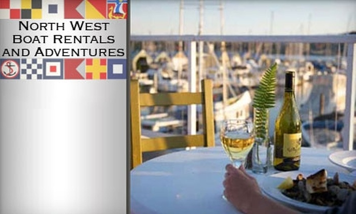 Northwest Boat Rentals - Poulsbo: $75 for a Two-Person Dinner Cruise from Northwest Boat Rentals in Poulsbo