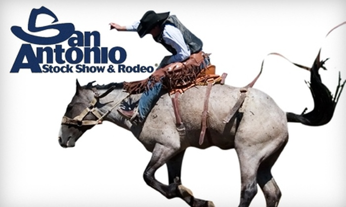San Antonio Stock Show & Rodeo - San Antonio: $7 for Two Grounds Admission Passes (Up To $14 Value) or $20 for Two Season Grounds Passes ($40 Value) to the San Antonio Stock Show & Rodeo