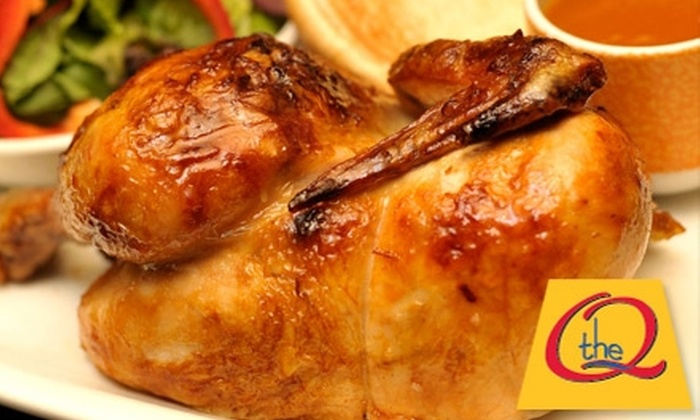 The Q - Islington - City Centre West: $15 for $30 Worth of Chicken, Ribs, Drinks, and More at The Q