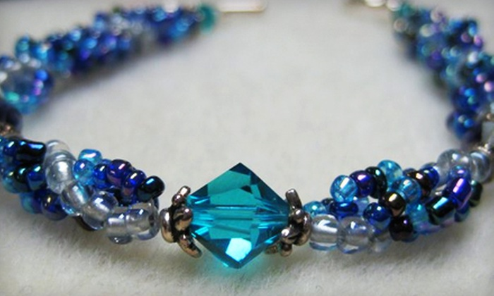 Kasie's Beads - Naperville: $30 for a Beginner's Jewelry-Making Class for Two Plus $15 Worth of Merchandise at Kasie's Beads in Naperville (Up to $75 Value)