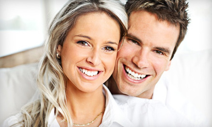 Dental Masters - Multiple Locations: Titanium Dental Implant, Prefabricated Abutment, and Optional Crown at Dental Masters (Up to 52% Off)