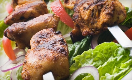 $17 Groupon to Kababs - Kababs in Wichita