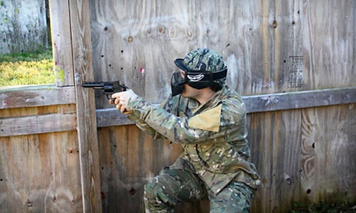 Cooper's Cave Games & Paintball - Kingsbury: $37 for Paintballing Package for Two at Cooper's Cave Games & Paintball in Kingsbury ($75 Value)