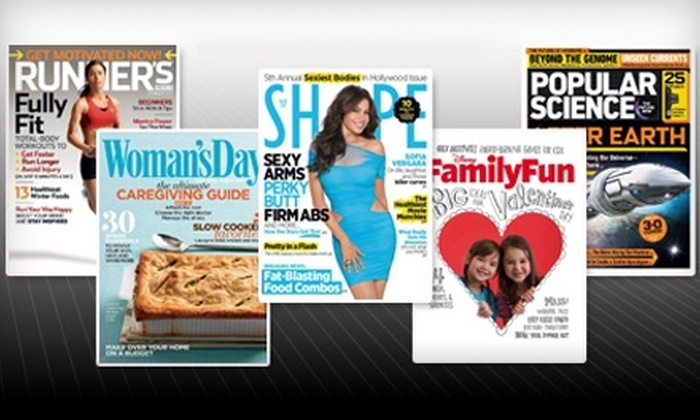 BlueDolphin.com: $10 for $20 Toward Magazine Subscriptions from BlueDolphin.com