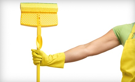 One 2-Hour House-Cleaning Session (up to a $120 value) - 2 Ladies & a Broom in