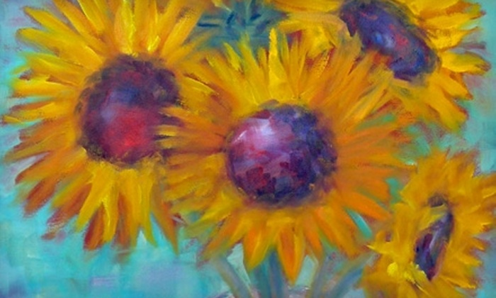 "Johns Creek Arts Center - State Bridge Crossing: $12 for Two Tickets to ""Art in Bloom"" at Johns Creek Arts Center in Johns Creek"