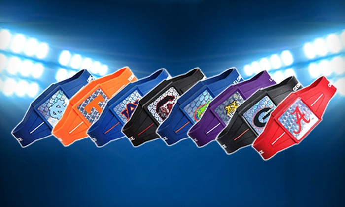 Power Force Apparel: $18 for Ion-Infused Logo Wristband from Power Force Apparel (Up to $40.60 Value)
