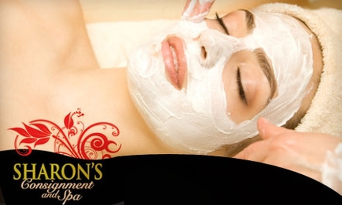 Sharon's Consignment & Spa - Gig Harbor: $35 for a Facial at Sharon's Consignment & Spa ($75 Value)