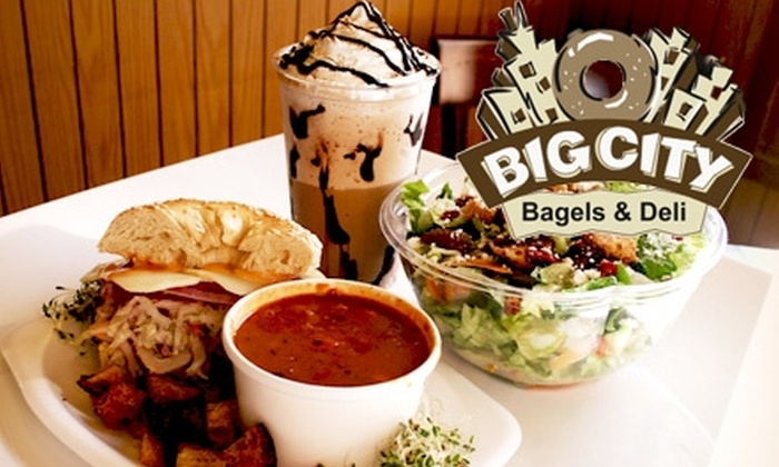 Big City Bagels & Deli - Hillcrest: $5 for $10 Worth of Bagels, Schmears, Sandwiches, Coffee, and More at Big City Bagels & Deli