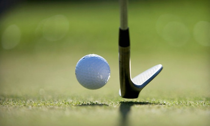 Gleneagle Golf Course - Gleneagle: $39 for 18-Hole Golf Outing with Range Balls and Lunch for Two at Gleneagle Golf Course in Arlington (Up to $78 Value)