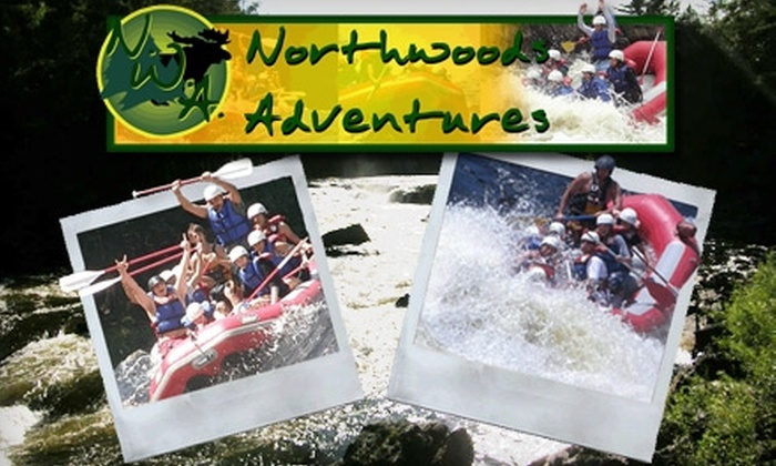 Northwood's Adventures - Niagara: $25 for a Menominee Rafting Adventure at Northwood's Adventures (Up to $52.95 Value)