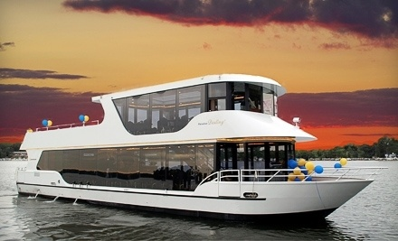 Pizza Cruise on the Mississippi River (a $26 value) - Paradise Charter Cruises and Minneapolis Queen in Excelsior