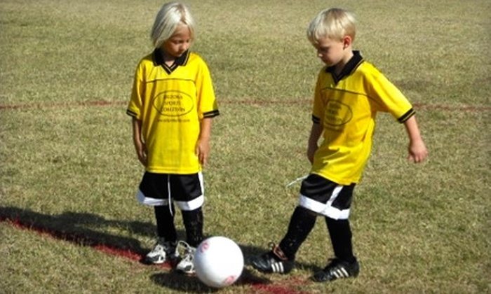 Arizona Sports Coalition - Multiple Locations: $47 for Children's Flag Football or Soccer Registration from Arizona Sports Coalition in Mesa