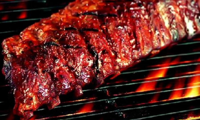 Boss Hawgs BBQ Express - Multiple Locations: $10 for $20 Worth of Slow-Cooked Barbecue Fare at Boss Hawgs BBQ Express