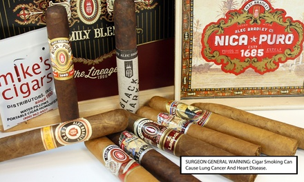 Mike's Cigars Father's Day 9- or 10-pack Sampler from $19.99–$44.99