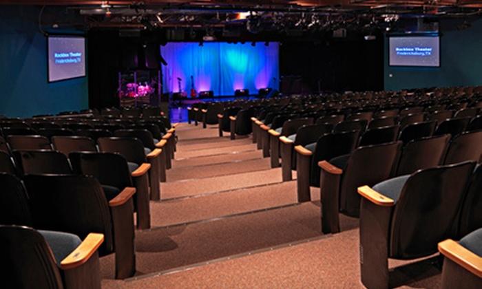 Rockbox Theater - Fredericksburg: Two Tickets to Rockbox Theater in Fredericksburg. Four Shows Available.