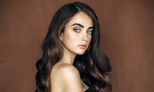 City To Sea Hairdressers: From $49 for a Cut, Shampoo, Blow-Dry and Threading Package at City To Sea Hairdressers, Flinders Park (From $90 Value)
