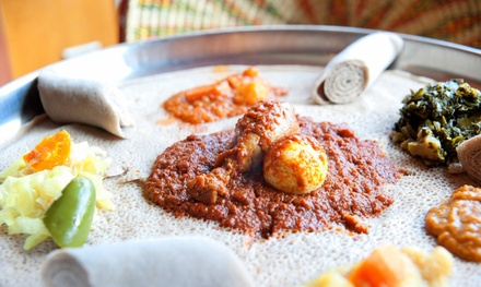 Ethiopian Dinner or Lunch Cuisine at Etete (Up to 44% Off)