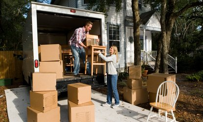 image for Two-Hour Moving Service with Two or Three Men and a Truck from G & G Moving (Up to 61% Off)