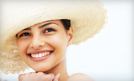 Dental Exam with Cleaning and X-rays or Teeth-Whitening Session at Brush Dental Studio (Up to 86% Off)
