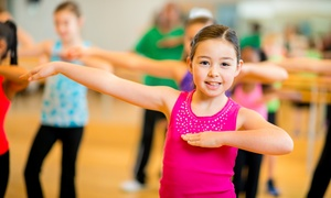 Summers Academy of Dance: Month of Kids' Dance Classes for One or Two, or a Kids' Hip-Hop Class at Summers Academy of Dance (Up to 60%Off)