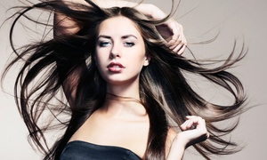 100% Beauty Salon: Haircut and Conditioning with Option for Mask or Highlights at 100% Beauty Salon (56% Off)